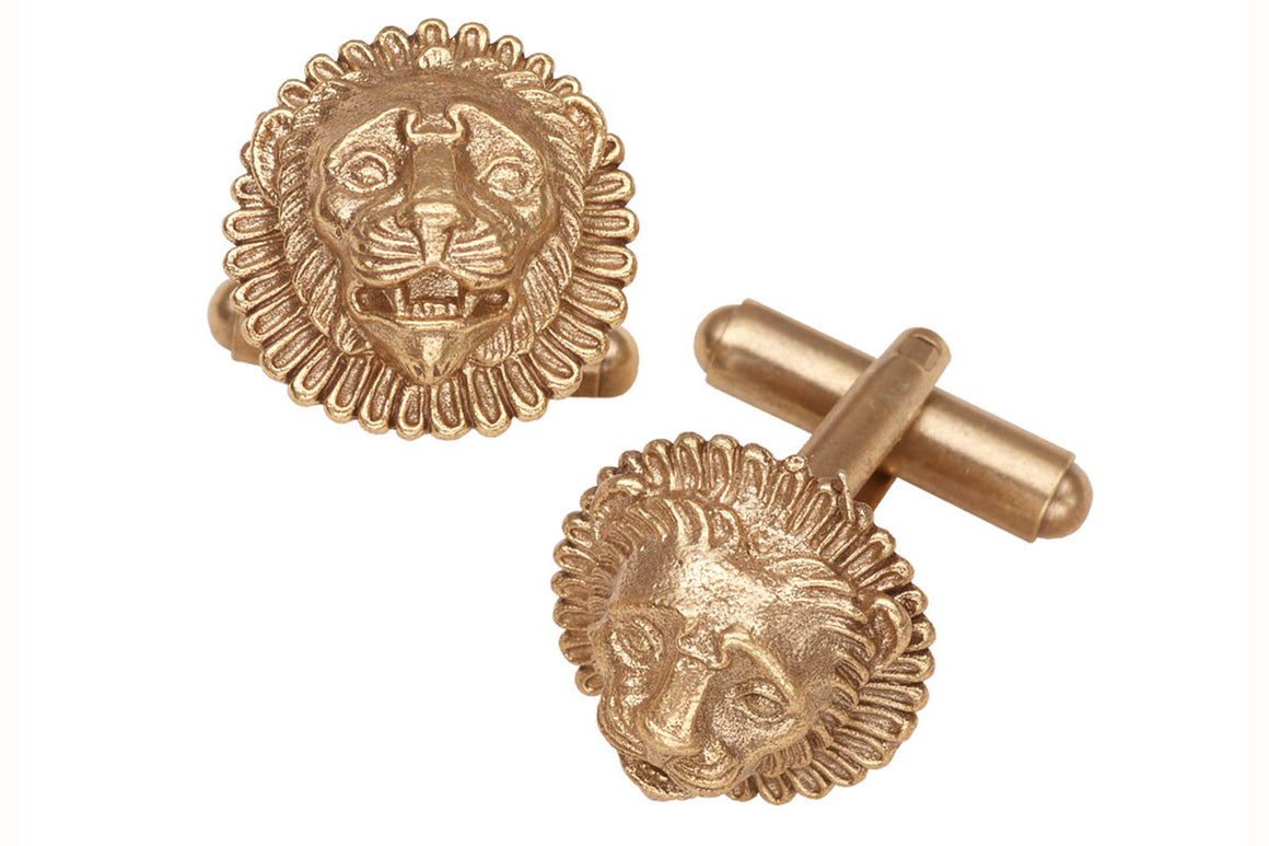 Ormalu Lion Cufflinks