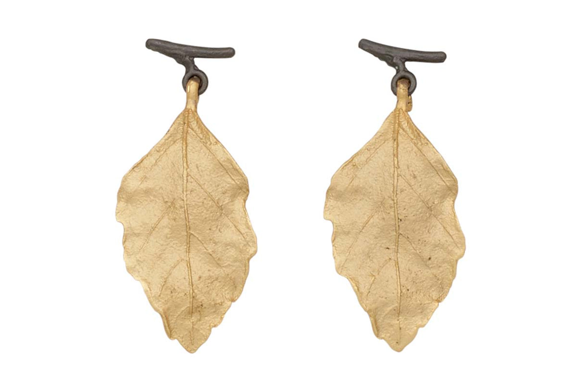 Autumn Birch Post Earrings