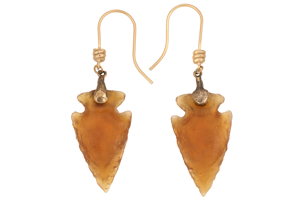 Beatnik Arrow head Earrings