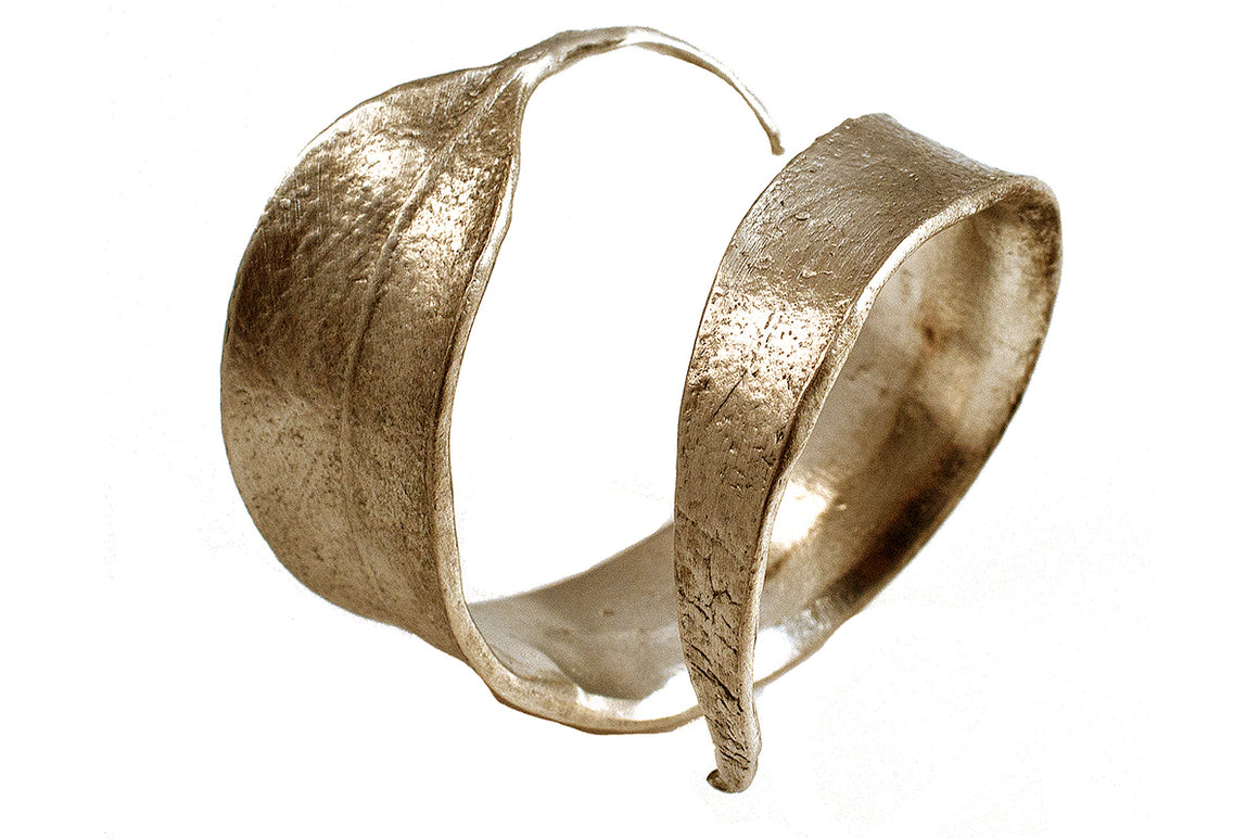 Eucalyptus Napkin Rings - Gold Finish