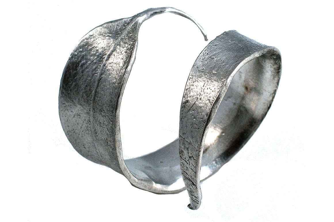 Eucalyptus Napkin Rings - Antique Pewter