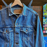 Vintage Levi's Orange Tab Denim Jacket Size M