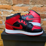 "Air Jordan 1 Mid ""Banned"" GS Size 6.5"