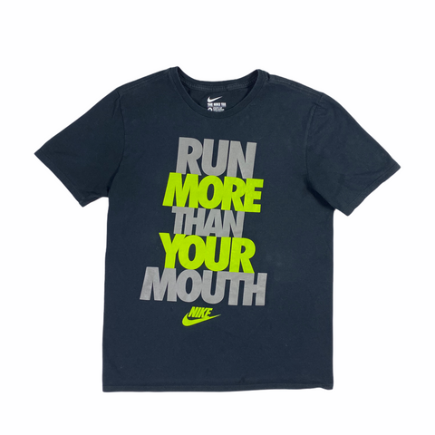 Nike Run More Than Your Mouth Tee