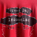 Vintage 1995 Green Day Insomniac Canadian Tour Tee Size XL