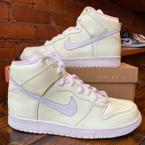 "2006 Brand New Nike Dunk High Premium ""Glow In The Dark"" Size 10"