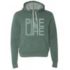 PINE LIFE Unisex Pullover Hoodie - Forest Green