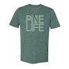 Unisex Crew T-shirt - Royal Pine