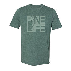 NEW! Unisex Crew T-shirt, Royal Pine