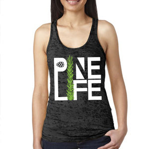 RESTOCKED! Women's Signature Burnout Tank - Deep Slate