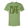 PINE LIFE Unisex T-Shirt, Heather Green