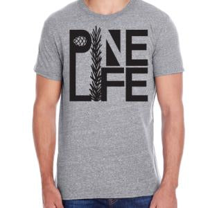 PINE LIFE - Men's T-Shirt, Heather Grey