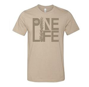 Crew Neck T-Shirt Unisex, Heather Tan