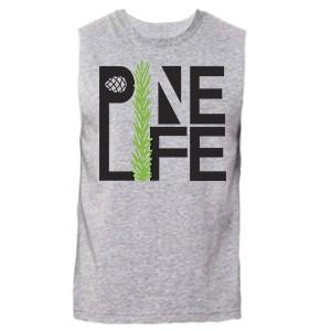 PINE LIFE - Men's Muscle Tank, Heather Grey