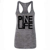 Women's Burnout Tank - Grey & Black