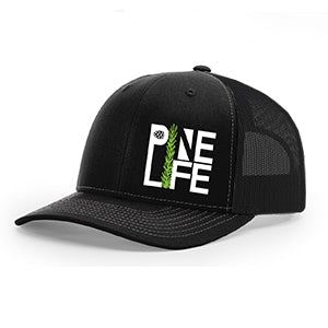 NEW! Snapback Trucker Hat - Black/Black