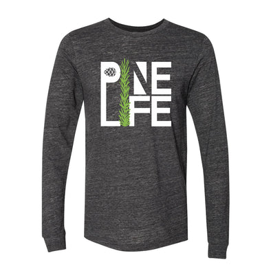NEW! Long Sleeve Jersey Tri-blend Unisex - Charcoal Black