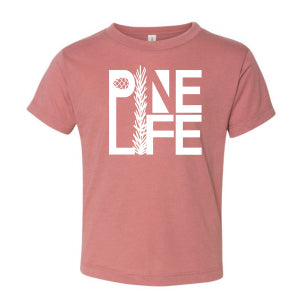 NEW! PINE LIFE Toddler Tri-blend Short Sleeve Tee - Mauve