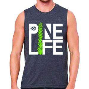PINE LIFE - Unisex Muscle Tank, Heather Grey