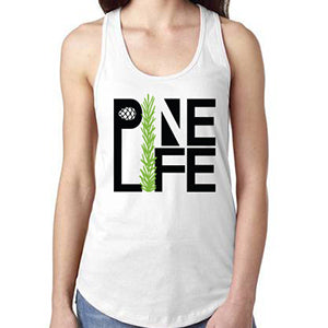 1 LEFT! Women's Racerback Tank - White