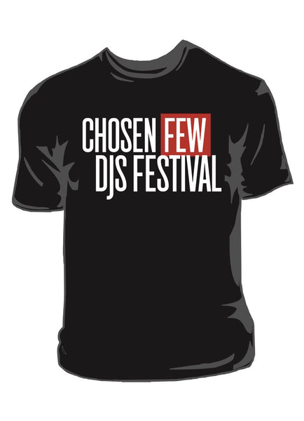 chosen few festival tee womens