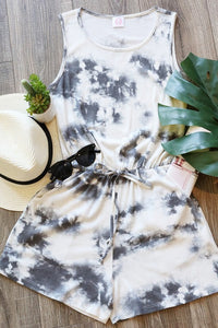 Tie Dyed Lounge Wear Romper