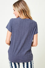 Ribbed Dress T-Shirt