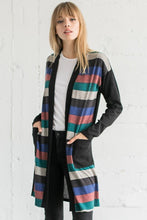 Multi Stripe Cardigan