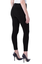 Liverpool Abby Hi-Rise Ankle Skinny (Color: Black Rinse)