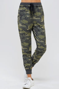 Super soft brushed knit jogger pants with side pockets