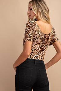 Bodysuit Animal Print