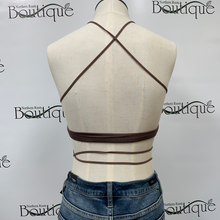 Bralette String Style Front with Tie
