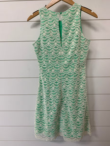 Southern Tide Crochet Mint Summer Dress