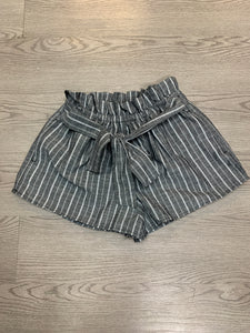 Striped Short with Front tie detail