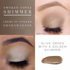 ShadowSense  Smoked Topaz Shimmer Creme to Powder