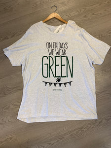"""Fridays We Wear Green"" T-Shirt"