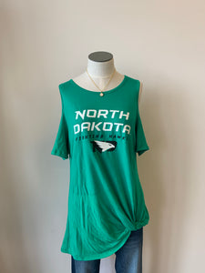 "UND ""Alma Mater"" Cold Shoulder"