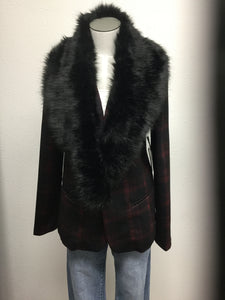 Liverpool Fitted Blazer w fur