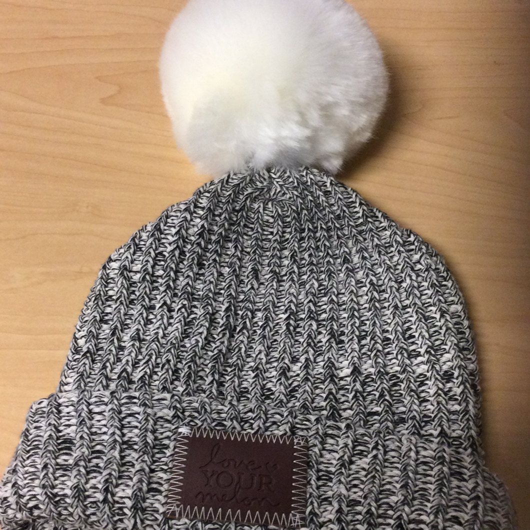 LYM Kids Beanie with Pom