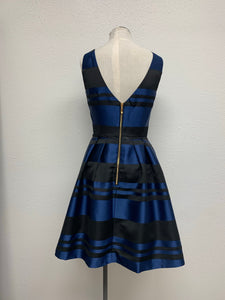 Southern Tide Stripe Dress in Yacht Blue