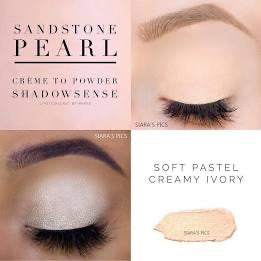 Sandstone Pearl Shimmer Creme to Powder ShadowSense