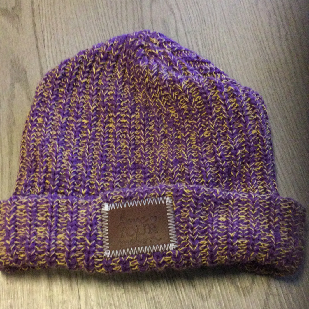 LYM Minneapolis beanie-purple