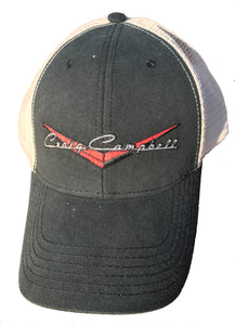 CC Snapback Hat - Black