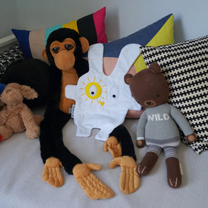 Yellow+grey-flash-Doudoods-comforter-with-toys
