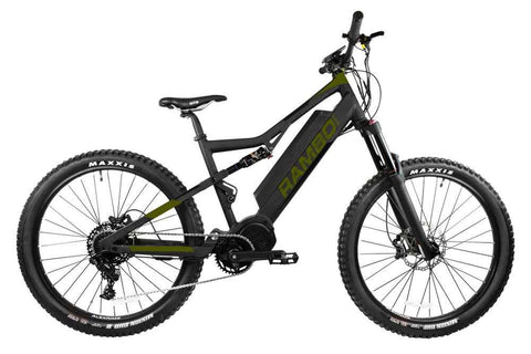 Rambo Rampage Electric Hunting Bike Package