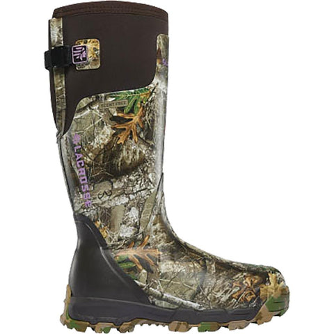 LaCrosse Womens Alphaburly Pro Boot Realtree Edge 800g