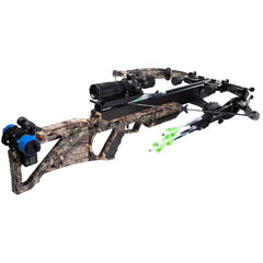 Excalibur Bulldog 440 Crossbow Mossy Oak Breakup Tact 100 Scope and EXT