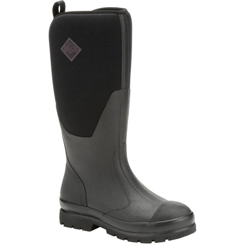 Muck Womens Chore Boot Classic Tall Black