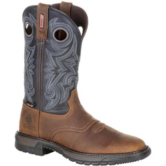 Rocky Original Ride FLX Boot Buck Skin/Blue