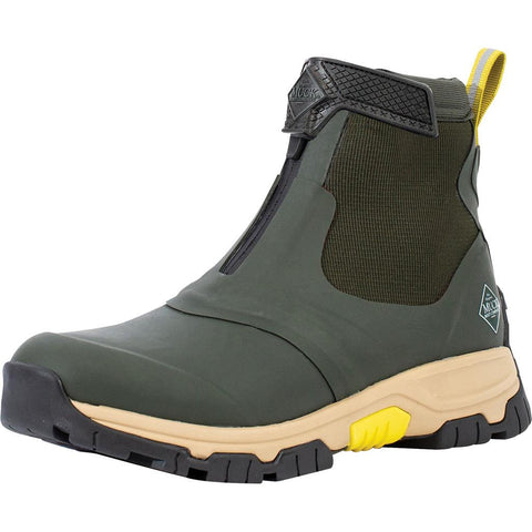 Muck Apex Mid Zip Boot Moss/ Tan